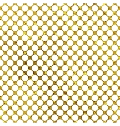 White and gold pattern abstract polka dot vector