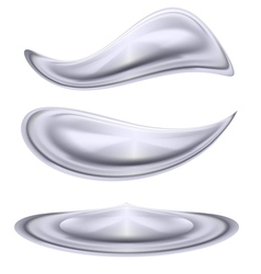 Water forms vector image