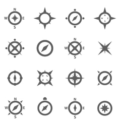 Set of compasses vector