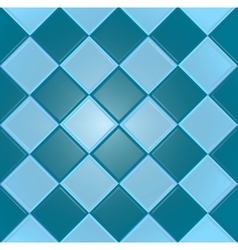Blue background with texture tiles vector