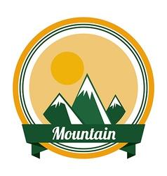 Mountain design vector