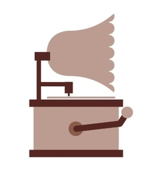 Silophone retro isolated icon design vector