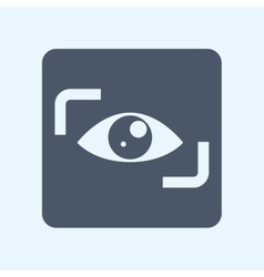 Surveillance and security icon vector