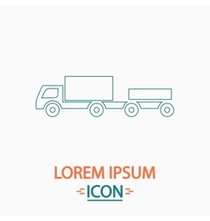Vehicles computer symbol vector