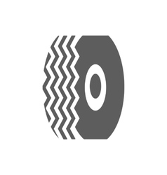 Car tire icon vector