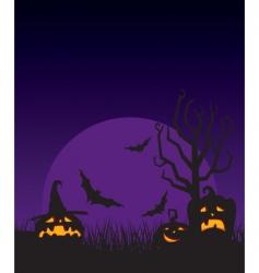 night halloween vector image vector image