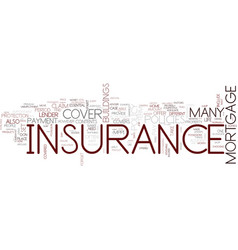 The essential guide to insurance text background vector