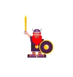 character Warrior Viking vector image