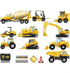 Construction icon set vector