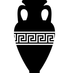 Ancient amphora vector