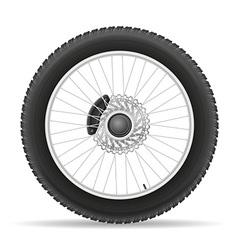 Motorcycle wheel 03 vector