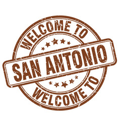 Welcome to san antonio vector