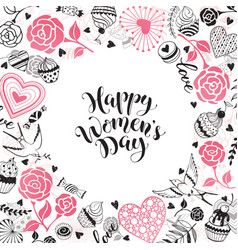 Women day card vector