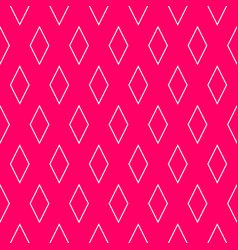 Tile pattern or pink and white background vector