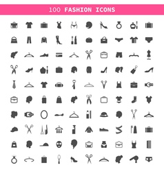 Fashion an icon vector