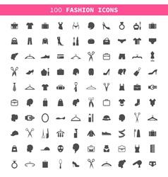 Fashion an icon vector