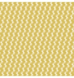 Gold metal background with white drops vector image vector image