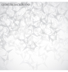 Grey graphic background molecule and communication vector