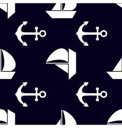 Marine and nautical backgrouns Sea theme Cute vector image