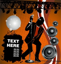 rock and house party vector image