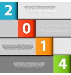 2014 infographics design elements vector