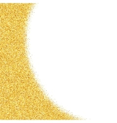 Abstract gold dust glitter star background vector