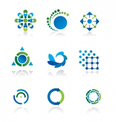 design elements and graphics vector image