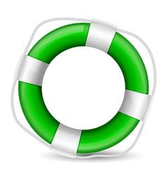 green buoy vector image vector image