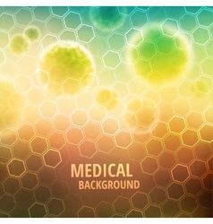 Medical background vector image