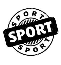 Sport rubber stamp vector