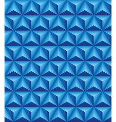 Tripartite pyramid blue seamless texture vector