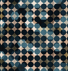 Vintage mosaic seamless texture vector