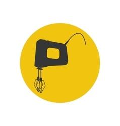 Mixer silhouette icon vector