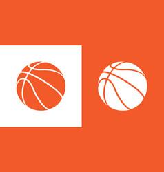 Basketball icons vector