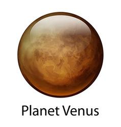 Planet venus vector