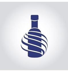 Alcohol logotype creative icon vector