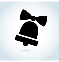 Bell Icon Symbol vector image vector image