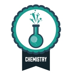 Science and chemistry design vector image