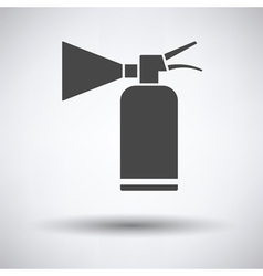 Extinguisher icon vector