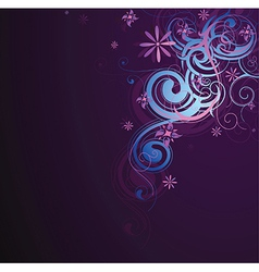 Decorative card design vector image