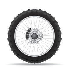 Motorcycle wheel 04 vector