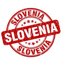 Slovenia stamp vector