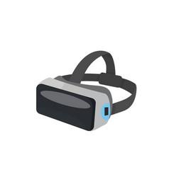 vr glasses or virtual reality helmet vector image