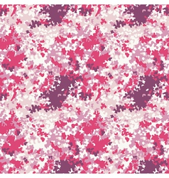 Pink camouflage texture vector