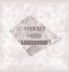 abstract geometric web background vector image vector image