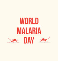 Collection background world malaria day vector