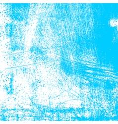 Cyan Scratched Texture vector image