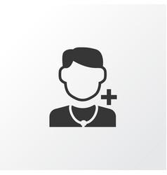 Doctor icon symbol premium quality isolated vector