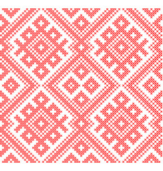 seamless traditional russian and slavic ornament vector image vector image