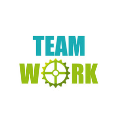 Team work design vector